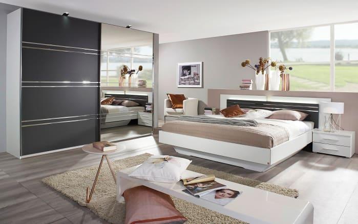 schlafzimmer janny in wei graphit online bei hardeck. Black Bedroom Furniture Sets. Home Design Ideas
