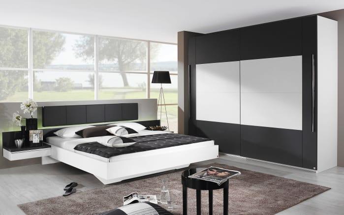 Schlafzimmer Tosca in alpinweiß/graphit