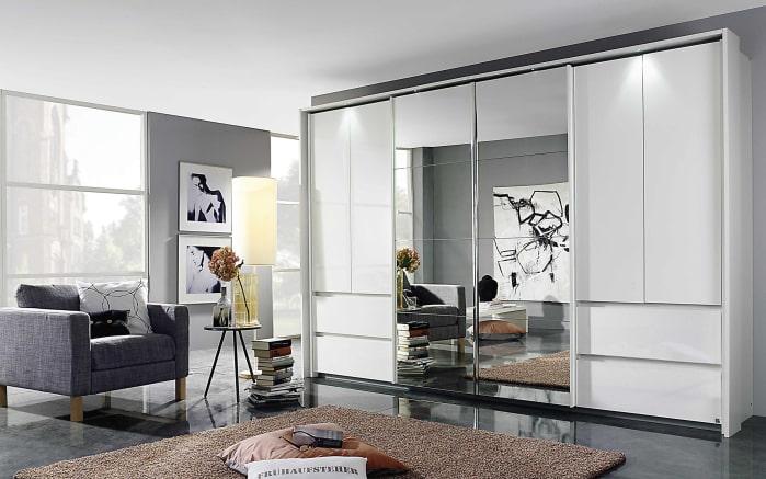 kombi schwebet renschrank fulda in alpinwei hochglanz. Black Bedroom Furniture Sets. Home Design Ideas