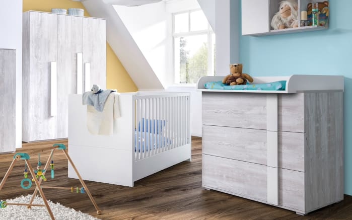 babyzimmer scandic in nordic pinien nachbildung online bei. Black Bedroom Furniture Sets. Home Design Ideas