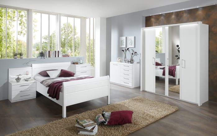 Komfortzimmer Udine in Lack weiß