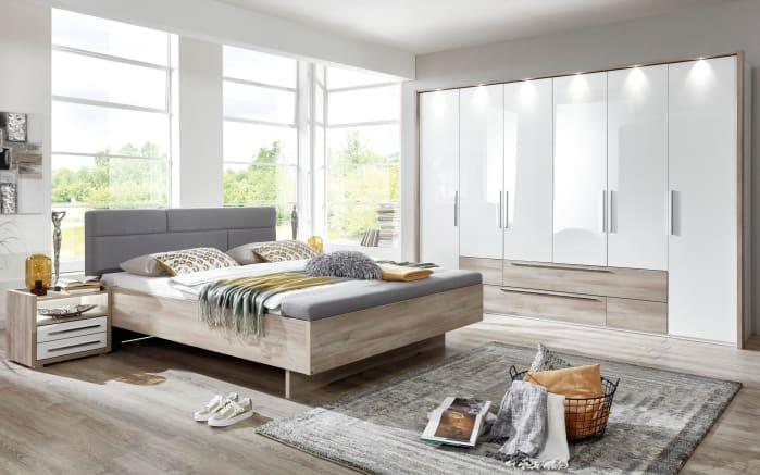 Schlafzimmer Panama-Plus in Samteiche/weiß online bei HARDECK kaufen