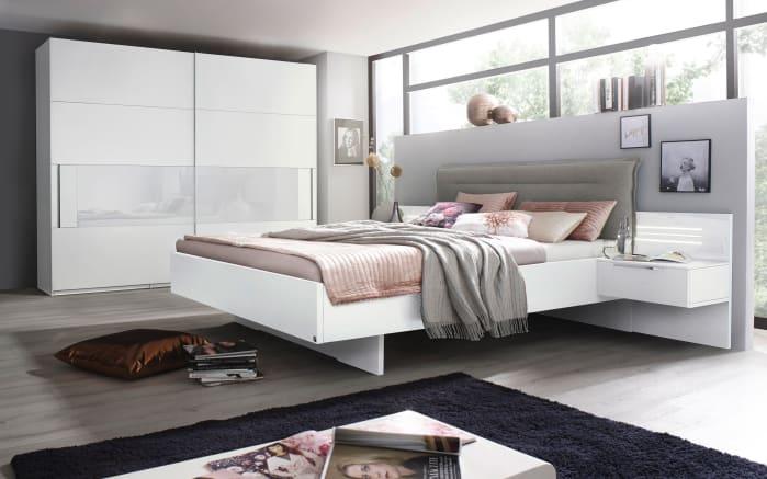Schlafzimmer Joelle in weiß/light grey
