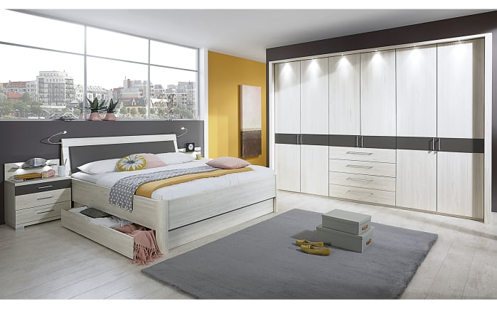 schlafzimmer lissabon in polar l rche optik online bei hardeck kaufen. Black Bedroom Furniture Sets. Home Design Ideas