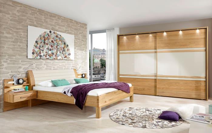 Schlafzimmer Modena in Eiche teilmassiv