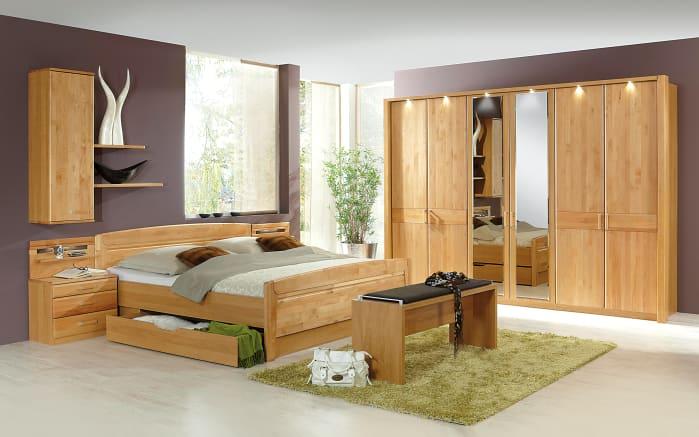 Schlafzimmer Lausanne in Erle teilmassiv online bei HARDECK kaufen