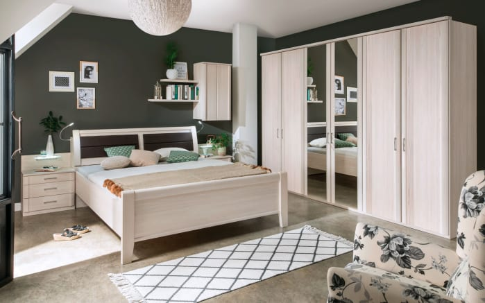 schlafzimmer luxor 4 in polar l rche optik online bei hardeck kaufen. Black Bedroom Furniture Sets. Home Design Ideas