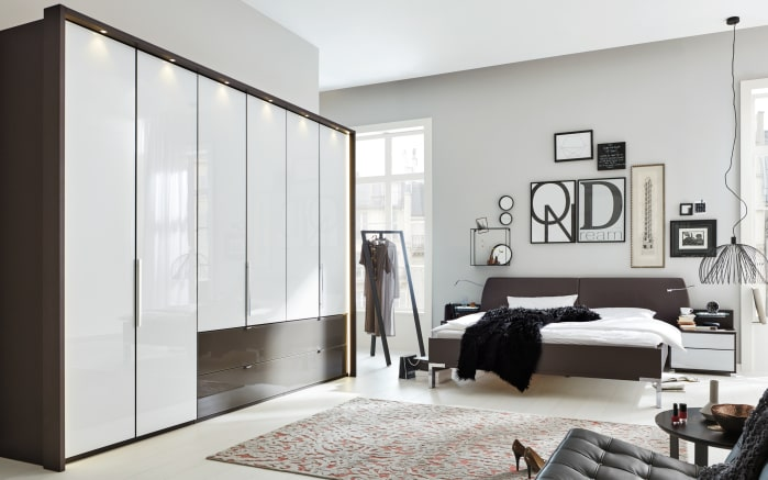 schlafzimmer 1006 in wei havanna braun online bei hardeck kaufen. Black Bedroom Furniture Sets. Home Design Ideas