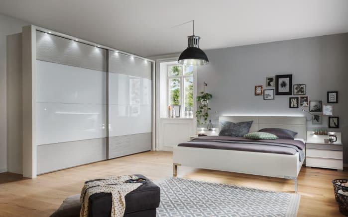 Schlafzimmer 4031 In Weiss Kieselgrau Online Bei Hardeck Kaufen