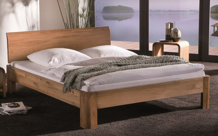 bett oak line in eiche massiv online bei hardeck kaufen. Black Bedroom Furniture Sets. Home Design Ideas