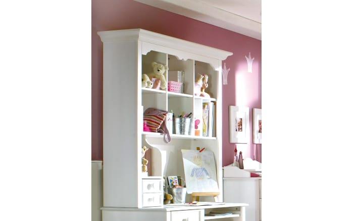 Aufsatz Für Pc Schreibtisch Cinderella Premium In Kiefer Weiß