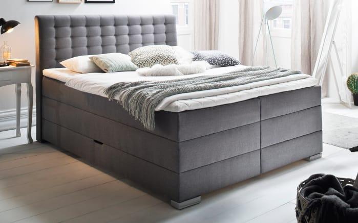 boxspringbett lenno in charcoal online bei hardeck kaufen. Black Bedroom Furniture Sets. Home Design Ideas