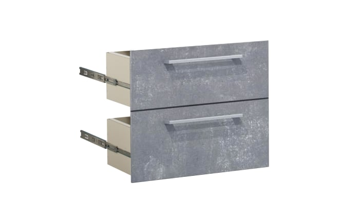 Schubkasten-Set Contact in Beton-Optik