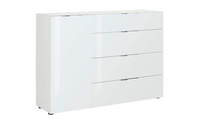 Kommode Trend in weiß, ca. 135 cm Breit