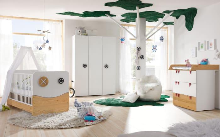 Babyzimmer Minimo now! in schneeweiß