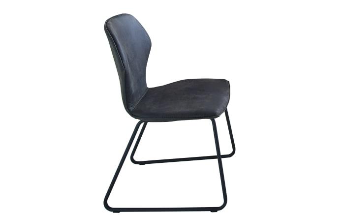 Design Stuhl In Anthrazit