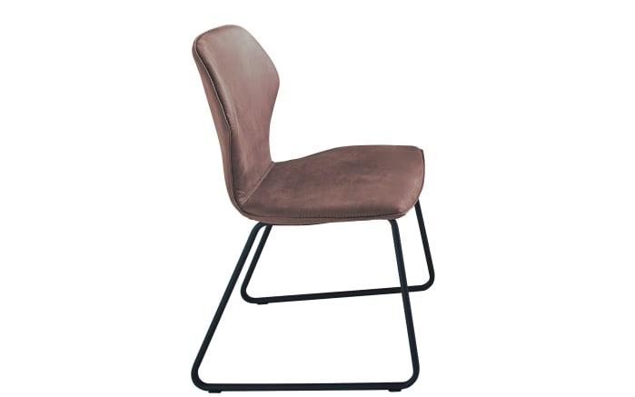 Design-Stuhl in stone