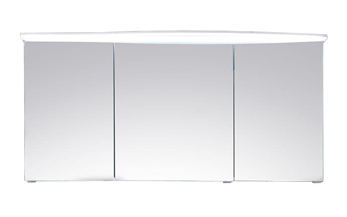 Spiegelschrank Solitaire 7005 in weiß Glanz
