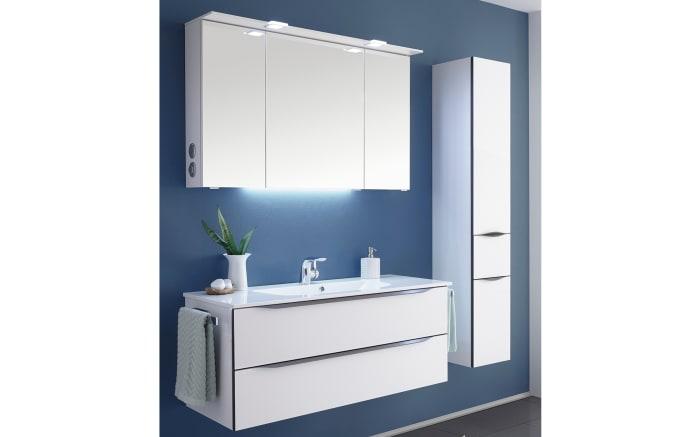 Bad-Einrichtung Solitaire 6025 in weiß matt