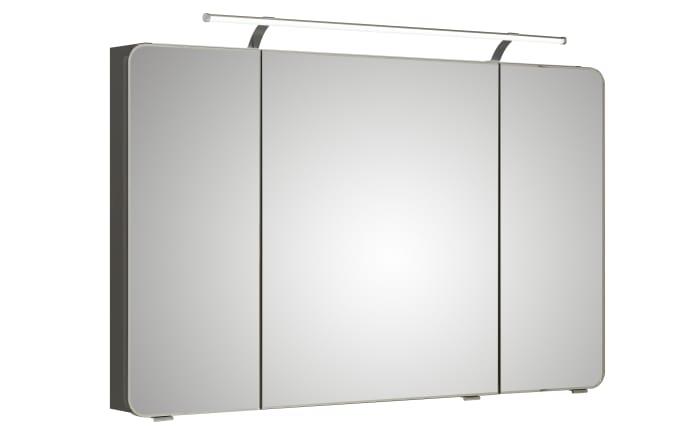 spiegelschrank fokus 4005 korpus in steingrau 120 cm. Black Bedroom Furniture Sets. Home Design Ideas