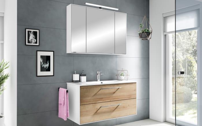 Einrichtung Bad bad einrichtung fokus 3065 in riviera eiche weiß bei hardeck