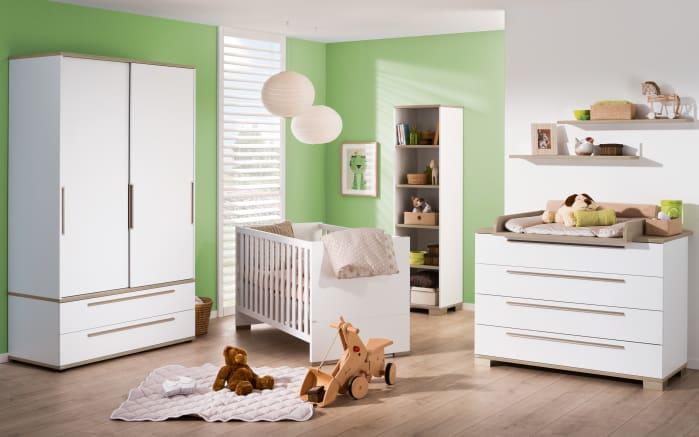 babyzimmer carlo in kreidewei fichte vintage optik online bei hardeck kaufen. Black Bedroom Furniture Sets. Home Design Ideas