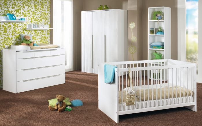 Babyzimmer Fabiana in weiß glänzend