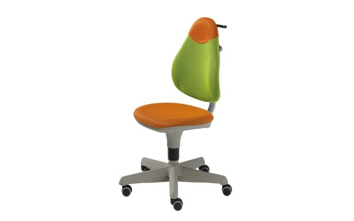 Schreibtischstuhl Pepe in grün,orange