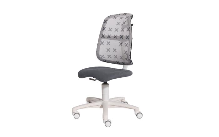 Schreibtischstuhl Sino in x-grau/grau