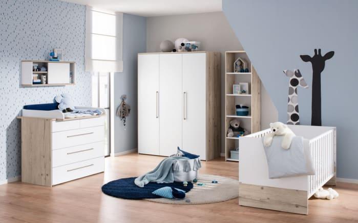 Babyzimmer Floria weiß/Fichte Vintage Nachbildung