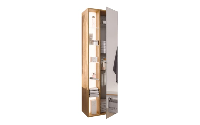 Hochschrank B.collection b.brace mit Regal in Eiche natur-Optik