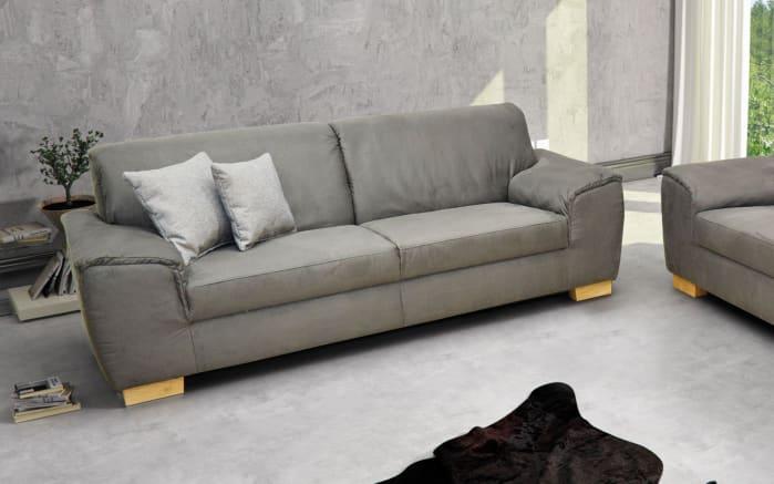 sofa 2 5 sitzer bianca in grau online bei hardeck kaufen. Black Bedroom Furniture Sets. Home Design Ideas