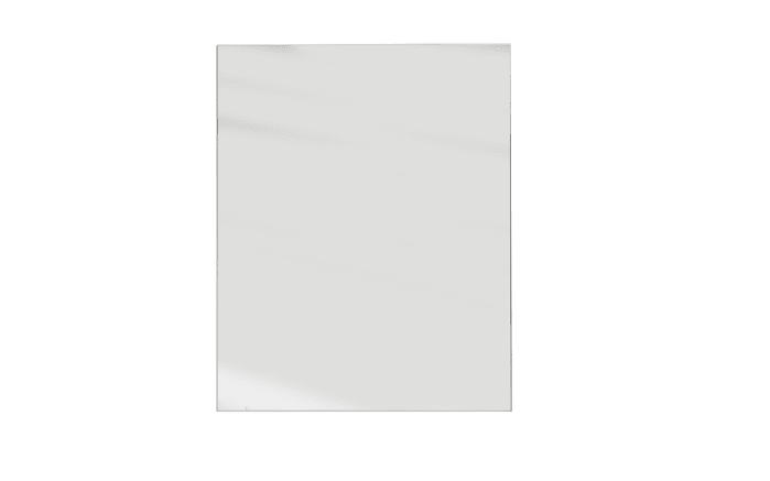 Spiegel Spice aus Klarglas, 70 x 90 cm