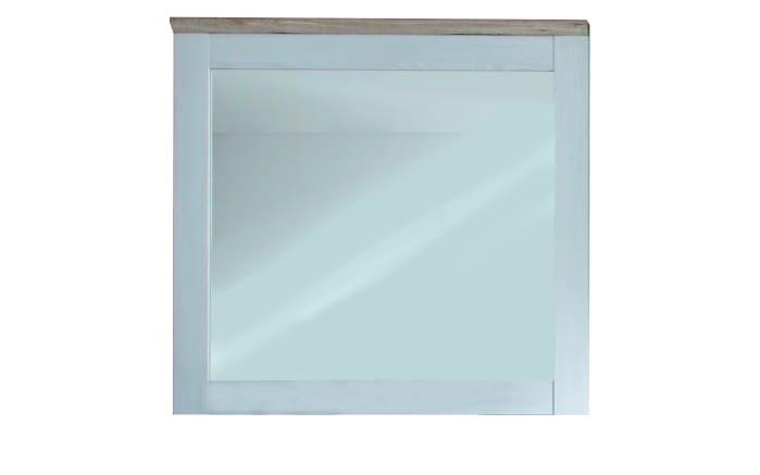 Spiegel Romance in weiß, 96 x 92 cm