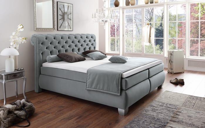 boxspringbett chester in anthrazit online bei hardeck kaufen. Black Bedroom Furniture Sets. Home Design Ideas
