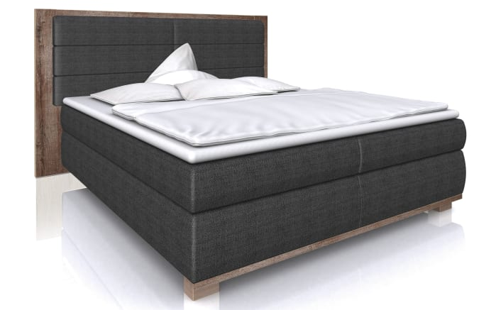 boxspringbett ohio in anthrazit schlammeiche optik online bei hardeck entdecken. Black Bedroom Furniture Sets. Home Design Ideas
