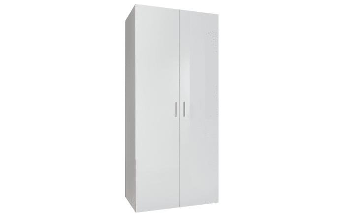 Drehtürenschrank Malta in weiß, Breite ca. 80 cm