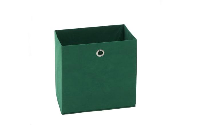 Aufbewahrungsbox in grün, 32 x 32 cm