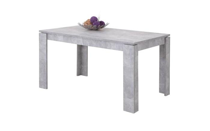 esstisch alexa i t in betonoptik online bei hardeck kaufen. Black Bedroom Furniture Sets. Home Design Ideas