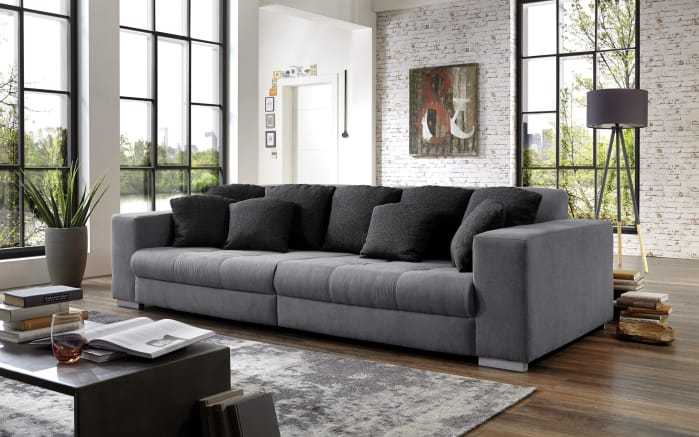 big sofa ontario mit federkern und wurfkissen online bei hardeck entdecken. Black Bedroom Furniture Sets. Home Design Ideas