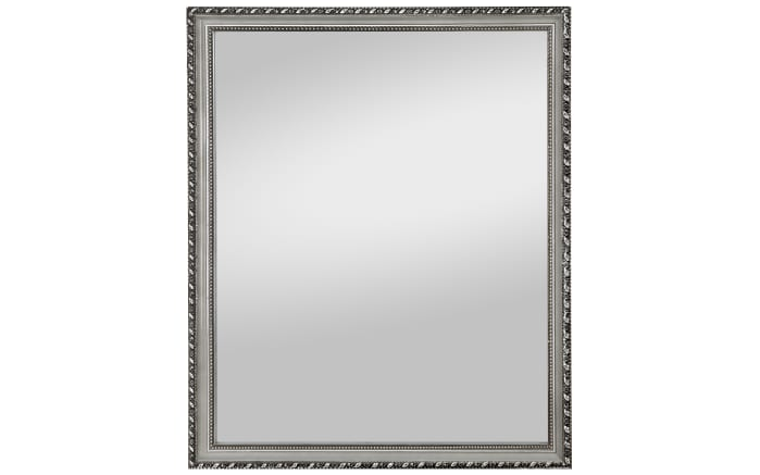 Rahmenspiegel Lisa in Silber-Optik, ca. 34 x 45 cm