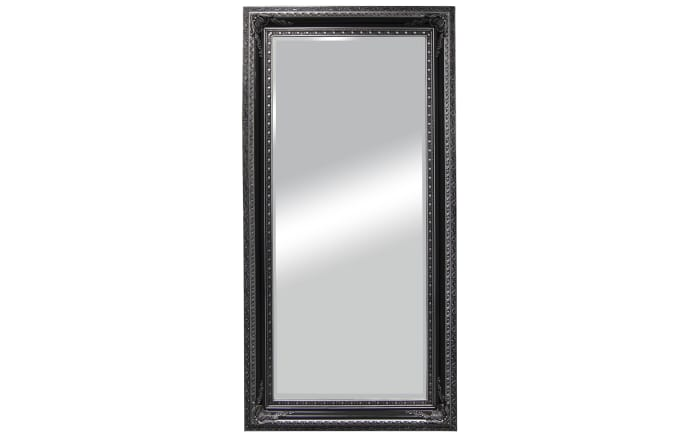 Rahmenspiegel Isa in schwarz, 100 x 200 cm