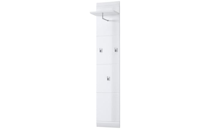 garderobenpaneel adana in wei hochglanz online bei hardeck kaufen. Black Bedroom Furniture Sets. Home Design Ideas