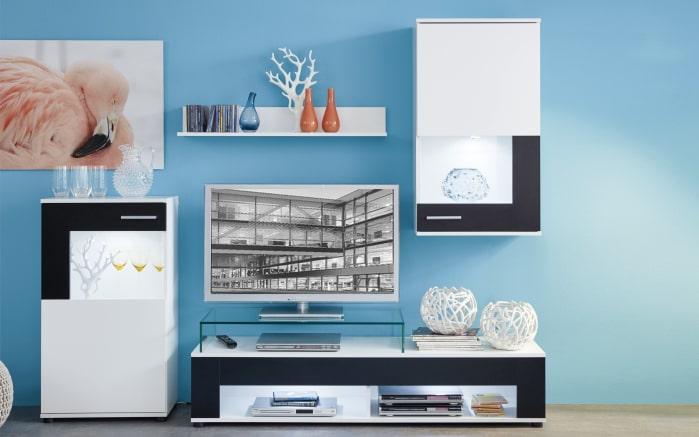 Wohnwand Corner in weiß online bei HARDECK kaufen
