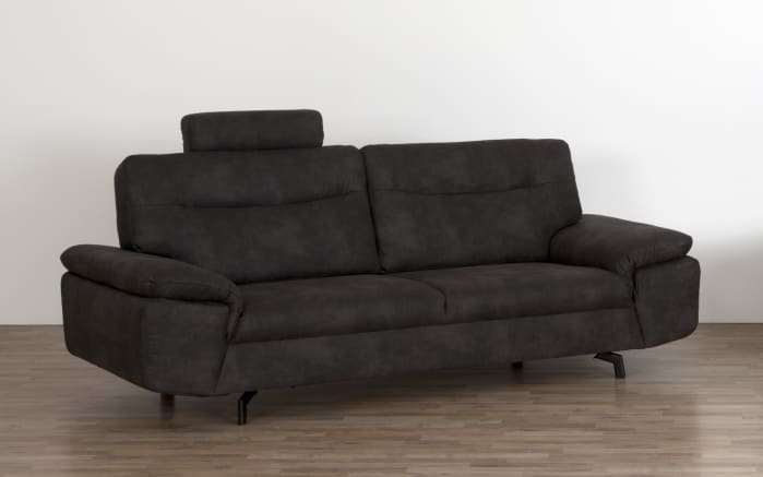 Sofa 3-Sitzer Stan in anthrazit