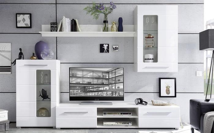 anbauwand enrique 1 in wei online bei hardeck kaufen. Black Bedroom Furniture Sets. Home Design Ideas