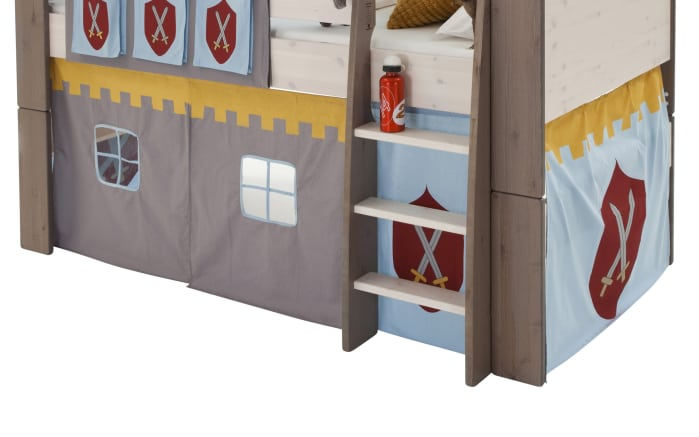 Vorhang-Set Steens for Kids Motiv Ritter