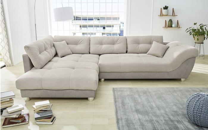 Wohnlandschaft Siena in grau/beige online bei HARDECK kaufen