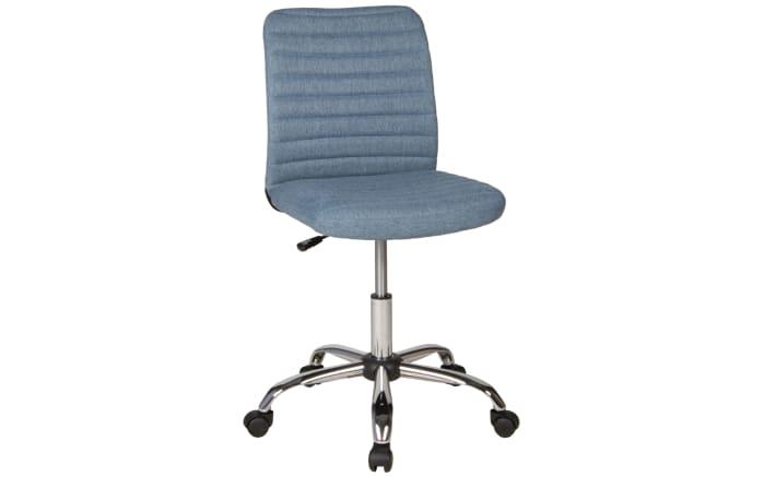 Schreibtischstuhl Milo in blau