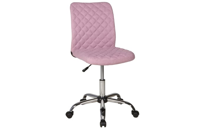Schreibtischstuhl Milo in rosa
